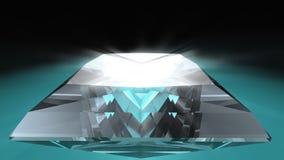 Diamante del corte de la princesa Fotografía de archivo