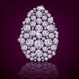 Diamante del huevo de Pascua Foto de archivo libre de regalías