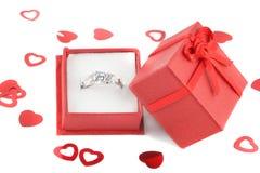 Diamante do acoplamento Fotografia de Stock Royalty Free