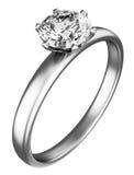 Diamante do anel Imagens de Stock
