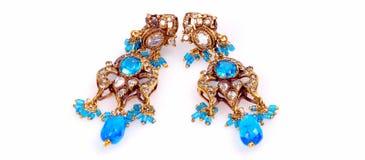 Diamante earing Imagen de archivo