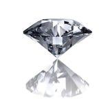 Diamante en blanco Fotografía de archivo libre de regalías