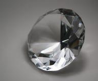Diamante en parte posterior del gris Fotos de archivo libres de regalías