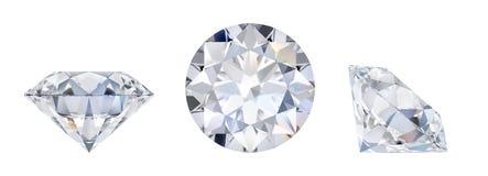 Diamante en tres dimensiones libre illustration
