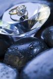 Diamante - gemma fotografie stock