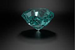 Diamante, gioielli, gemma, 3D brillanti, Fotografia Stock Libera da Diritti