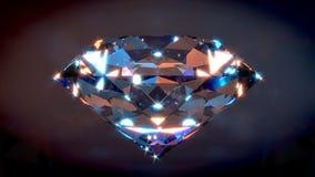 Diamante grande Fotos de archivo libres de regalías