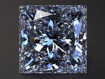 Diamante heart-shaped bonito foto de stock royalty free