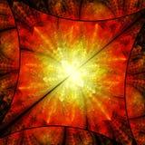Diamante luminoso di colore Caos dei cristalli illustrazione vettoriale