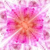 Diamante luminoso di colore Caos dei cristalli royalty illustrazione gratis