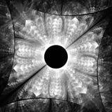 Diamante luminoso di colore Caos dei cristalli illustrazione di stock