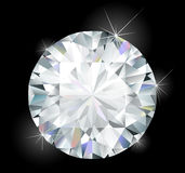 Diamante luminoso lucido Immagini Stock Libere da Diritti