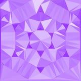 Diamante moderno violeta del efecto de la plantilla del diseño de la bandera Imagen de archivo libre de regalías