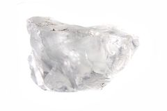 Diamante natural Imágenes de archivo libres de regalías