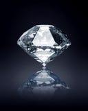 Diamante no fundo escuro Fotos de Stock