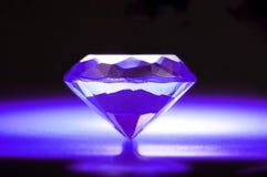 Diamante púrpura imagen de archivo libre de regalías