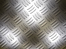 Diamante plateado de metal Imagen de archivo libre de regalías