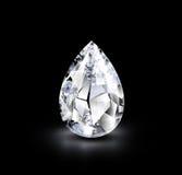 Diamante realístico Imagem de Stock