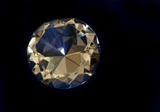 Diamante redondo Imagen de archivo