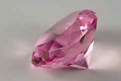 Diamante rosado Imagen de archivo libre de regalías