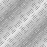 Diamante senza giunte di piastra metallica Immagini Stock Libere da Diritti