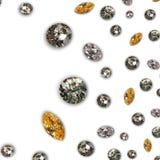 Diamante - textura de los diamantes Foto de archivo libre de regalías