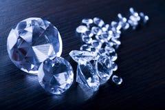 Diamante - una piedra dura Fotos de archivo