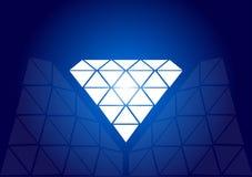 Diamante - vector ilustración del vector