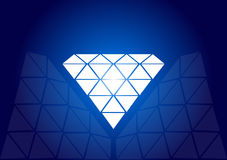 Diamante - vettore Fotografie Stock