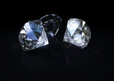Diamanten Stockbild