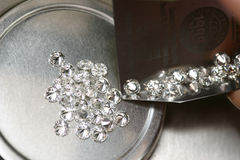 Diamanten Stockfotos