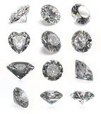 Diamanten Lizenzfreie Stockfotografie