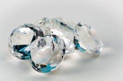 Diamanten blau Stockbilder