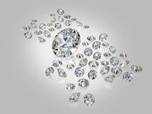 Diamanten, brilliants 6 lizenzfreie abbildung