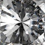 Diamanten 3d in samenstelling Stock Foto's