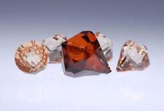 Diamanten en Gemmen royalty-vrije stock foto