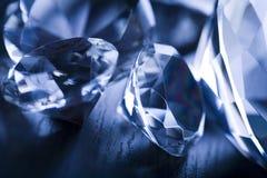 Diamanten - kostbare gift Royalty-vrije Stock Foto's