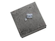 Diamanten op een juwelieraambeeld Royalty-vrije Stock Fotografie