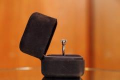 Diamanten ringer royaltyfri fotografi