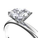 Diamanten ringer Arkivfoton