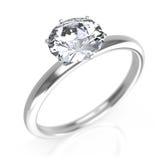 Diamanten ringer Arkivbilder