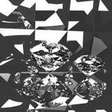 Diamantenbezinning Stock Foto's
