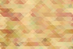 Diamantenpatroon in uitstekende, retro kleuren Achtergrond Royalty-vrije Stock Foto