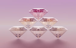 diamanter Royaltyfri Foto