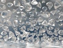 Diamanter Arkivbilder