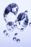 diamanter mirror white arkivfoto