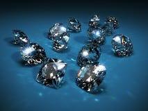 Diamantes Imagens de Stock