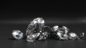 Diamantes Foto de archivo libre de regalías