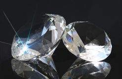 Diamantes Imagem de Stock Royalty Free