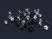 Diamantes stock de ilustración